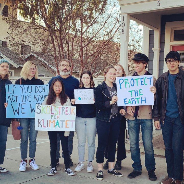 HS climate activists