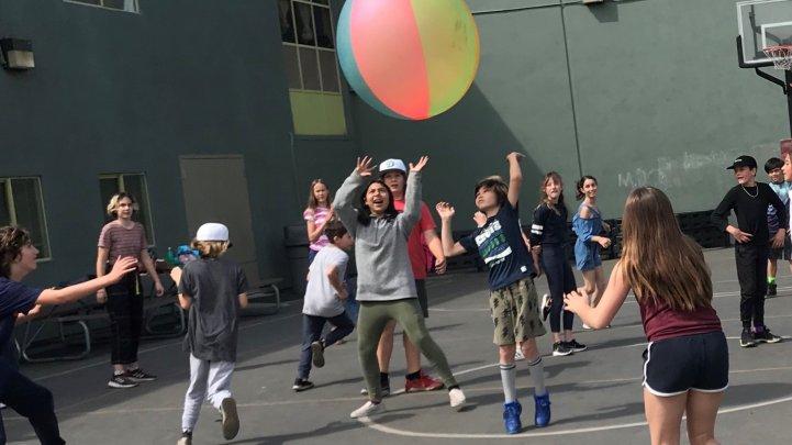 ES Play yard big ball